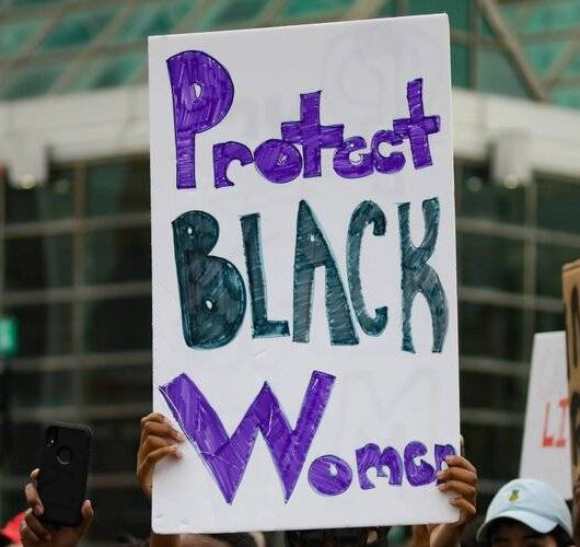 Protect Black Women Poster