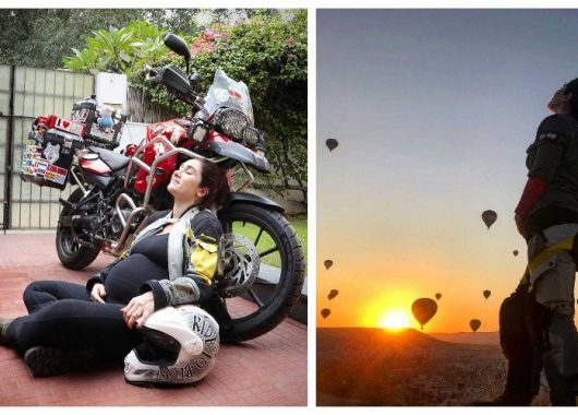 maral-yazarloo:-around-the-world-with-a-baby-bump,-on-an-800cc-motorbike