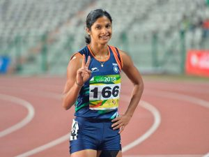 Srabani Nanda, first Indian athlete to run amid pandemic