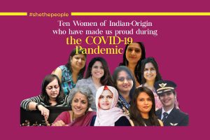 Women Indian Origin Proud COVID-19