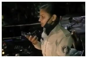 Gujarat Cop Sunita Yadav has been transferred because she stopped MLA's son for violating the lockdown