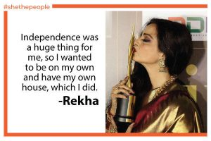 Rekha Quote