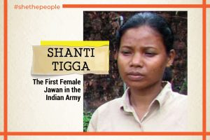 shanti tigga indian women in army