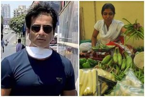 techie selling vegetables Hyderabad, sonu sood