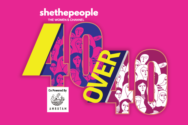 40 Over 40 Awards by SheThePeople