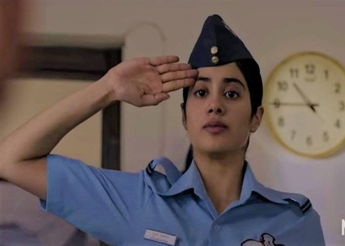Iaf Objects To Undue Negative Portrayal Of Its Work Culture In Gunjan Saxena Biopic