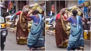 old women dancing Piya Tu