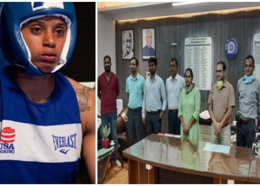 dhyan-chand-nominee,-boxer-usha-nagisetty-now-gets-felicitated-by-waltair-drm
