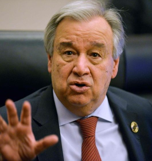 Antonio Guterres gender equality