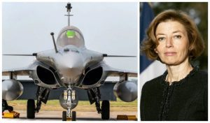 Florence Parly Rafale