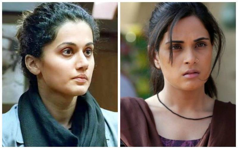 taapsee - richa, troublesome woman, women labelled troublemakers