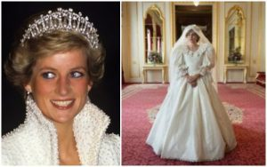 Princess diana wedding gown