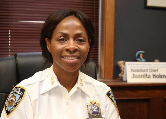 juanita-holmes-becomes-new-york-police-department's-first-female-chief-of-patrol