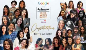 Digital Women Awards winners