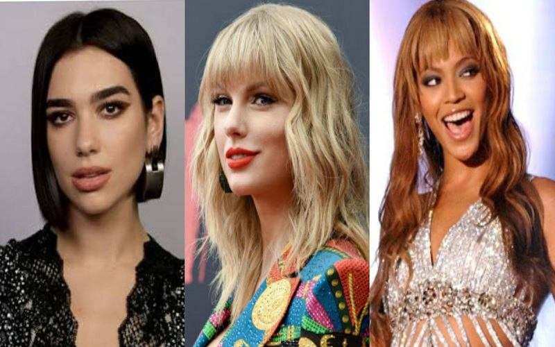 olsuyi2eo38zzm https www shethepeople tv art culture check out the female artists nominated grammys 2021 beyonce taylor swift dua lipa billie eilish