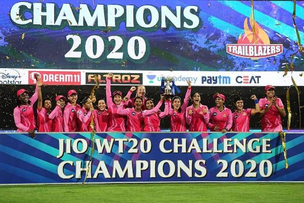 Trailblazers Lift Women's T20 Challenge Trophy