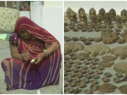Rural Women Make Eco-friendly Diyas, Sell Them At Low Cost For Diwali.