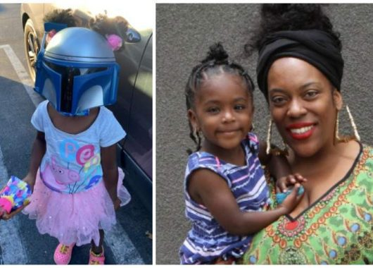 mom-tells-5-year-old-daughter-to-wear-a-mask-for-a-shopping-trip,-she-pairs-a-star-wars-one-with-her-tutu