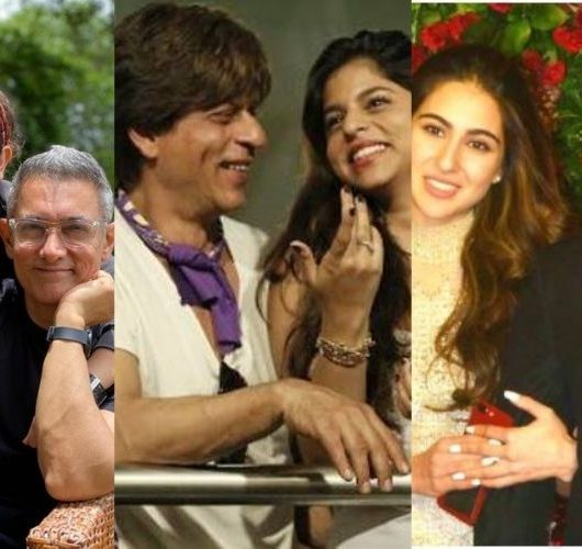 Bollywood father-daughter duos