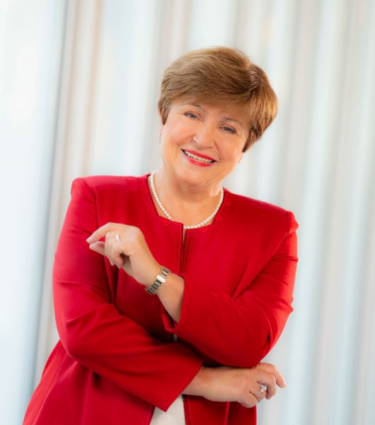 Kristalina Georgieva Lauded India