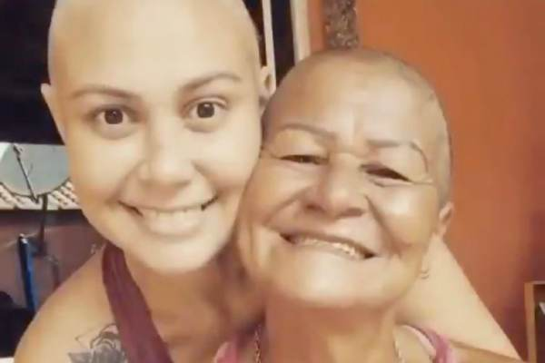 Viral Video Mother Shaves Head