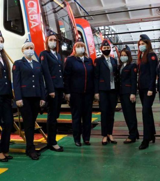 Moscow Metro Female Drivers