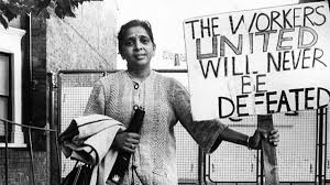 Jayaben Desai (2 April 1933 – 23 December 2010) was a prominent leader of the strikers in the Grunwick dispute in London in 1976.