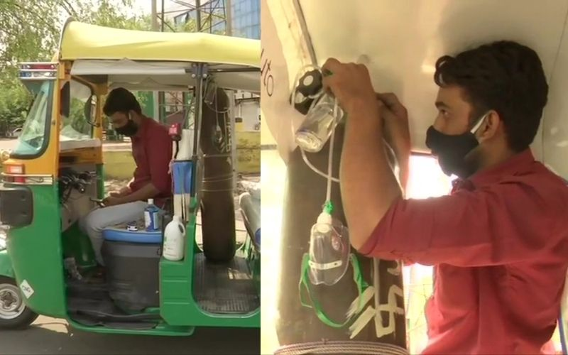 Auto-Rickshaw Ambulance: Bhopal Man Converts Auto-Rickshaw Into Free Ambulance For Needy