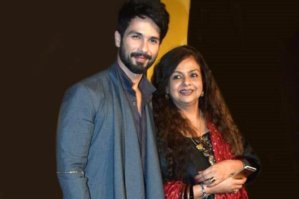 Shahid Kapoor's mother