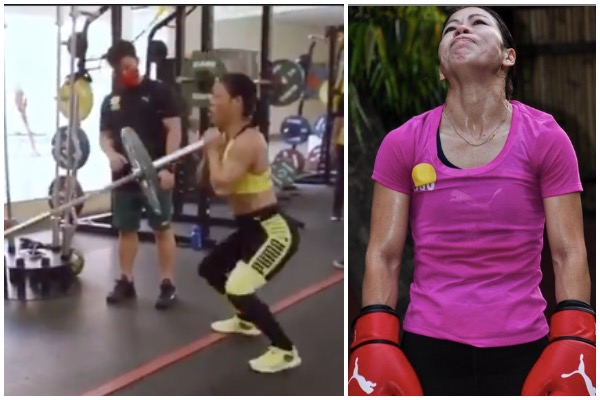 Mary Kom workout video