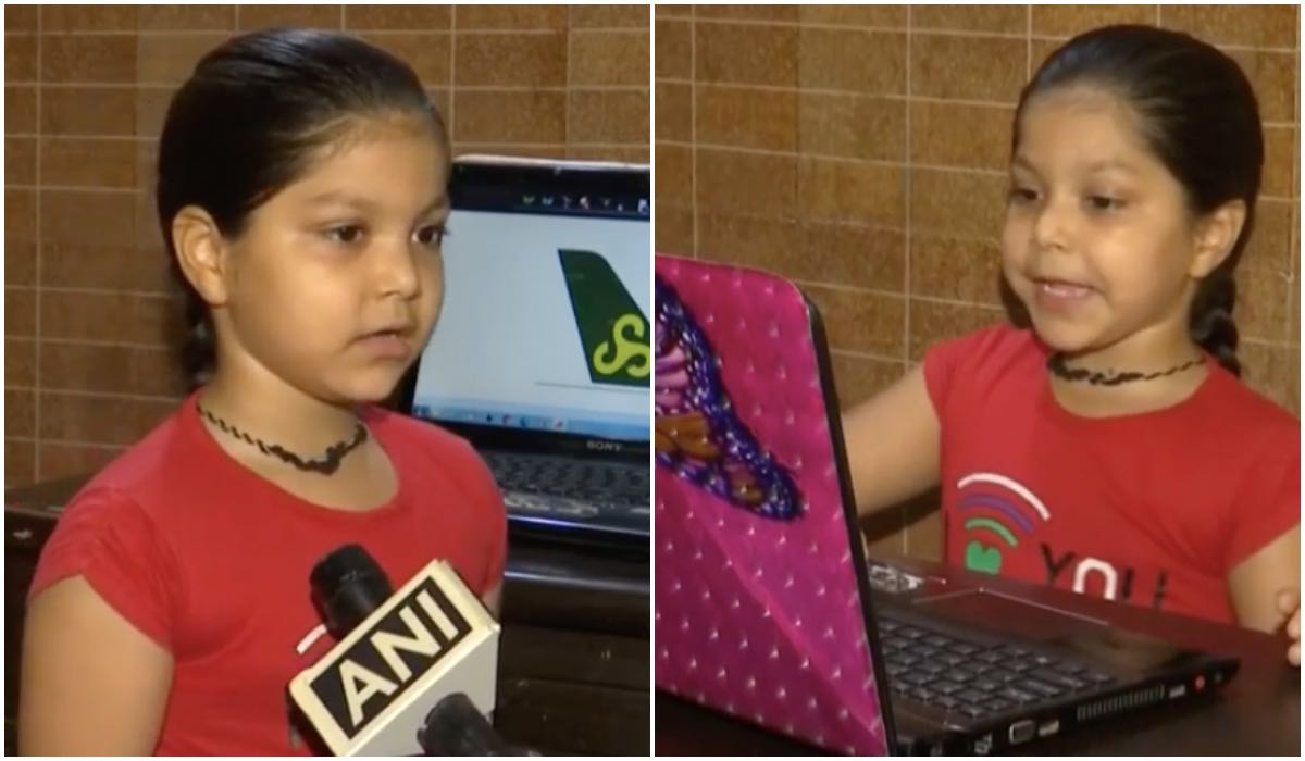 6-year-old girl sets world record by identifying 93 aeroplane tails in a minute